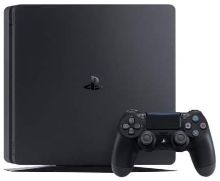 Игровая приставка Sony Playstation 4 Slim 1TB Черный + God of War