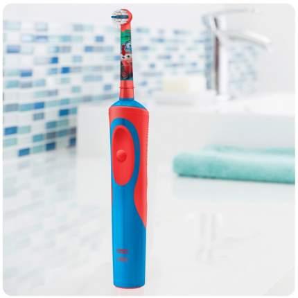 Детская электрическая зубная щетка Oral-B Тачки
