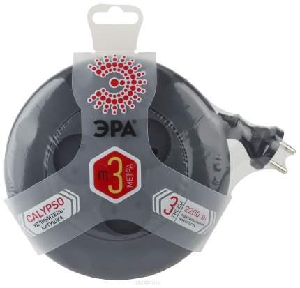 Удлинитель ЭРА Calypso UR-3-3m-B Б0019039 Черный