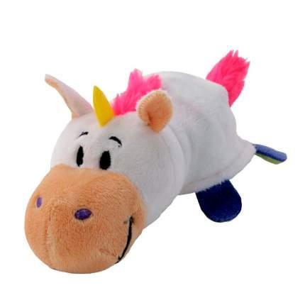 Мягкая игрушка 1 TOY Вывернушка 4 вида 2 в 1, Единорог-Дракон, 40х20х19 см (Т10930)