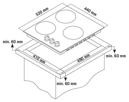 Встраиваемая варочная панель газовая Zigmund & Shtain GN 238.451 S Silver
