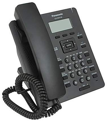 Проводной SIP-телефон Panasonic KX-HDV130RUB Black