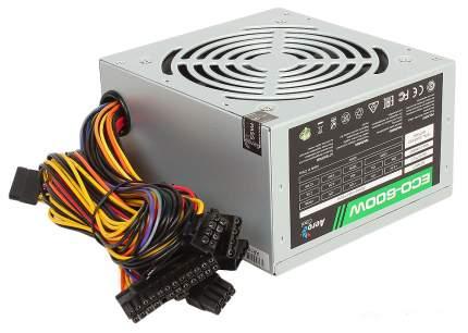 Блок питания компьютера Aerocool ECO-600W