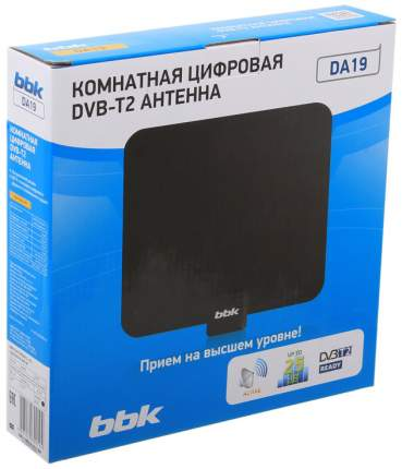Антенна телевизионная комнатная BBK DA19