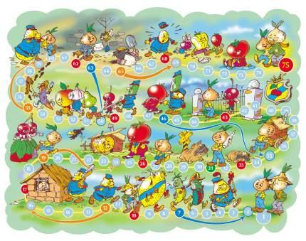 Семейная настольная игра Десятое Королевство Приключения Чиполлино 01018ДК
