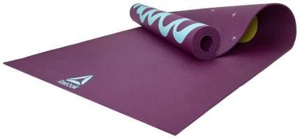 Коврик для йоги Reebok Yoga Mat Crosses-Hi RAYG-11030HH фиолетовый 4 мм