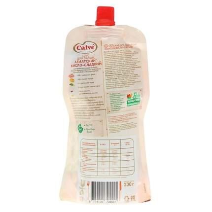 Соус Calve азиатский кисло-сладкий для лапши 230 г