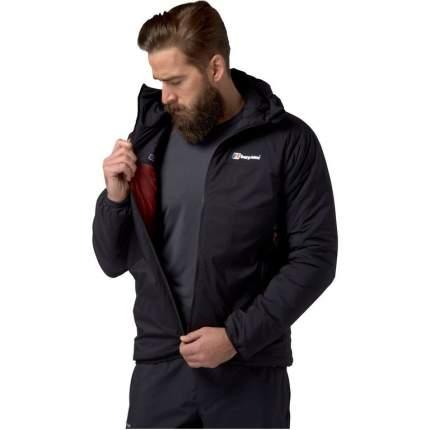 Спортивная куртка мужская Berghaus Extrem Reversa Syn, black, L