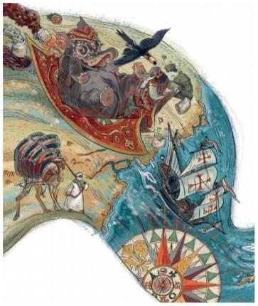 Манн, Иванов и Фербер Великие путешествия, Детские Энциклопедии С Чевостиком, качур Е
