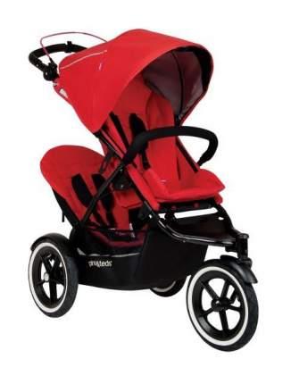 Сидение второго ребенка для коляски Phil and Teds Sport Cherry -красный