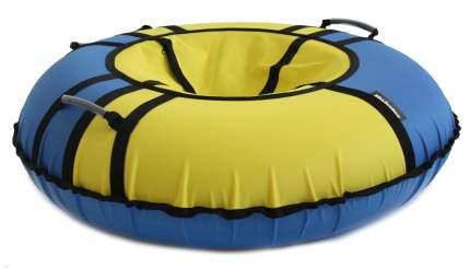 Тюбинг Hubster Хайп голубой-желтый 110 см