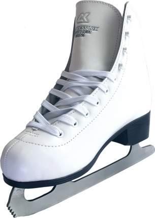 Коньки фигурные Спортивная Коллекция Princess Lux Leather белые, 33
