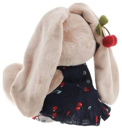 Мягкая игрушка Budi Basa Зайка Ми в костюмчике и с войлочной вишней