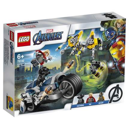 Конструктор LEGO Marvel Avengers Movie 4 76142 Мстители: Атака на спортбайке