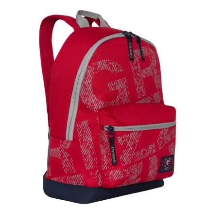 Городской рюкзак мужской Grizzly RQ-921-2 красный