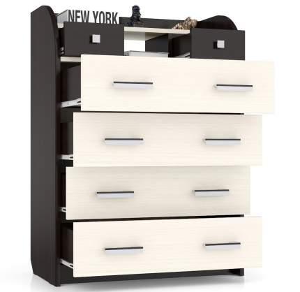 Комод Мебельный Двор К-6 80х43х110 см, венеге