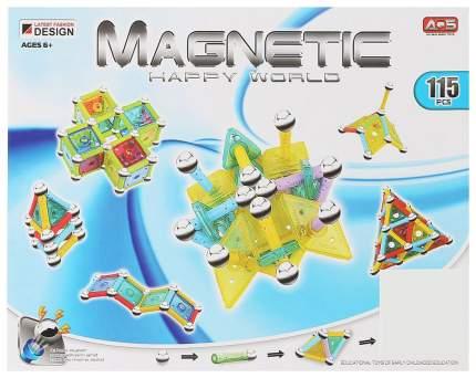 Конструктор магнитный Магический шар, 115 деталей Sima-Land