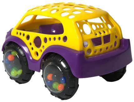 Машинка-неразбивайка, жёлто-фиолетовая
