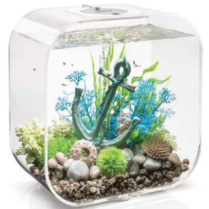 Искусственное растение для аквариума biOrb Синий морской веер, средний, 30см