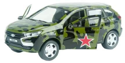 Машинка Autotime Lada Xray специального назначения 1:36 65285W-RUS