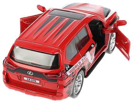 Коллекционная модель машины Технопарк LX570-S-SL