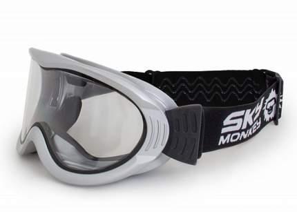 Горнолыжная маска Sky Monkey SR20 TR 2018 silver