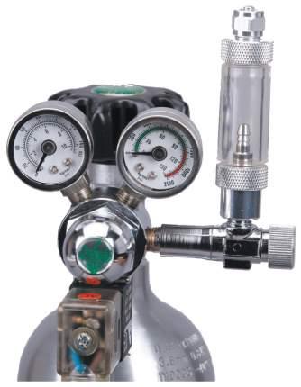 Редуктор Ista СО2 с электромагнитным клапаном фронтальный