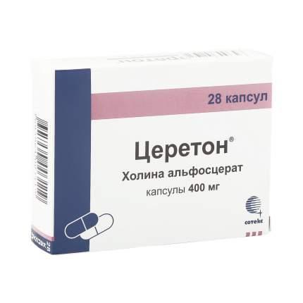Церетон капсулы 400 мг 28 шт.