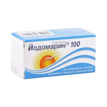 Йодомарин100 таблетки 100 мкг 100 шт.