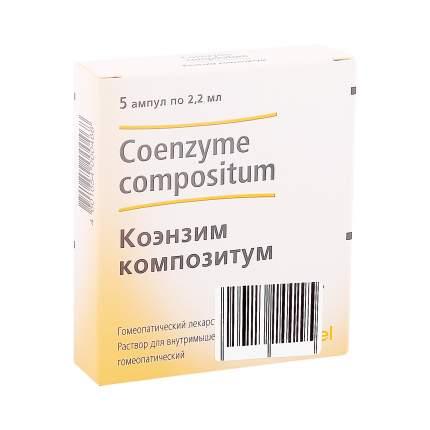Коэнзим композитум раствор 2.2 мл 5 шт.