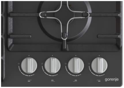 Встраиваемая варочная панель газовая Gorenje GW641MB Black