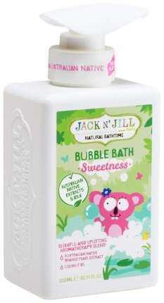 Пена для ванны детская Jack N Jill Sweetness 300 мл