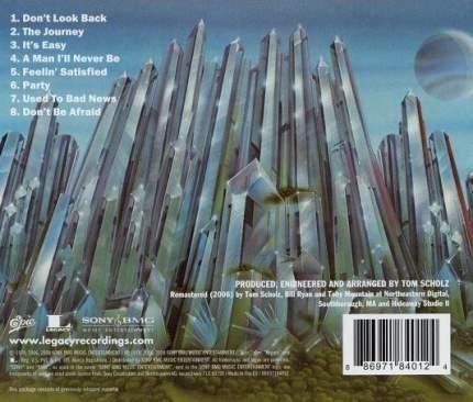 Boston  Don't Look Back (CD)