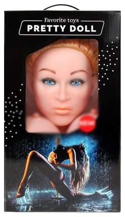 Надувная секс-кукла Bior toys Анжелика с вибрацией