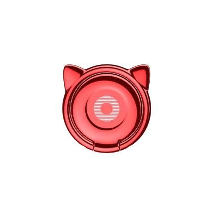 Кольцо-держатель Baseus Cat Ear Ring Bracket Red