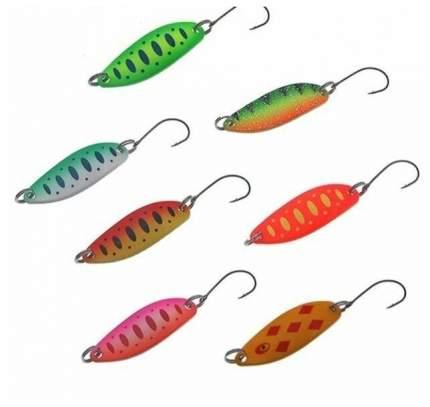 Блесна форелевая. Набор 7 шт. Lucky Fish. KIT51