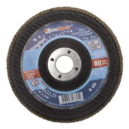 Диск лепестковый для угловых шлифмашин ЛУГА 3656-150-25
