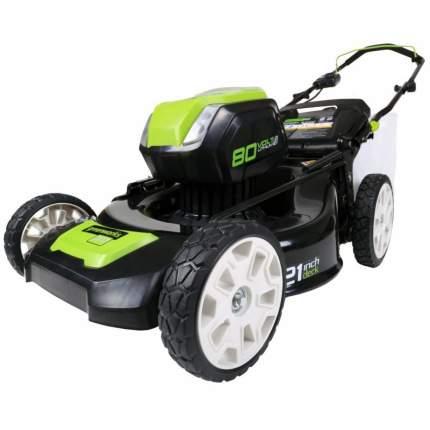 Аккумуляторная газонокосилка Greenworks GD80LM51 2500707 БЕЗ АККУМУЛЯТОРА И З/У