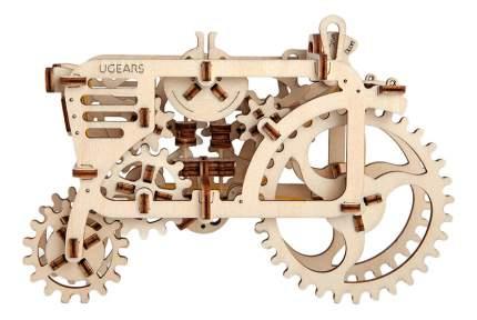 Сборная модель конструктор UGEARS Трактор