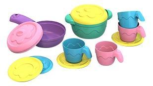 Посуда шкода, плита кастр, сков, 2 крыш, 4 чаш, 4 блюдца