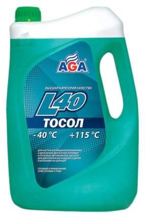 Тосол AGA G11 зеленый готовый антифриз 10л