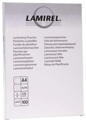 Пленка для ламинирования Fellowes Lamirel LA-7866001/CRC-78660 А4 125мкм 100 шт.