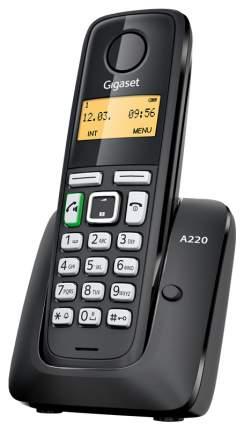 Телефон DECT Gigaset A220 черный