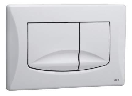 Кнопка смыва OLI River Dual белый (638501)