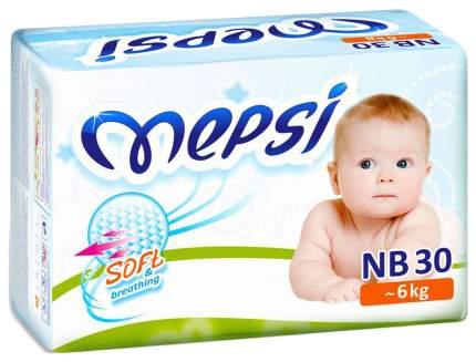 Подгузники для новорожденных Mepsi Soft&breathing NB (0-6 кг), 30 шт.
