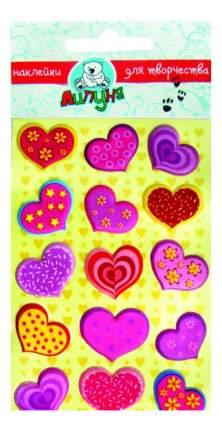 Наклейка декоративная для детской комнаты Липуня Сердца