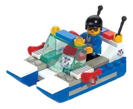 Конструктор пластиковый Sluban Полицейский катер