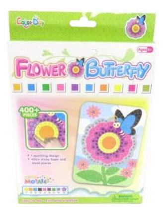 Мозаика Бабочка на цветочке