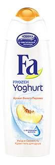 Крем-гель для душа Fa Frozen Yoghurt Аромат белого персика 250 мл