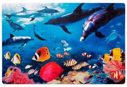 Мягкий коврик-пазл ALTACTO Дельфины